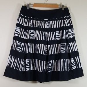 Talbots flared skirt